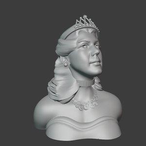 3D hurrem sultan model