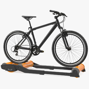 mountain bike riding roller 3D