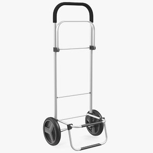 wheel compact luggage cart 3D model
