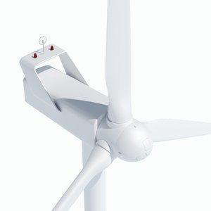 standard wind turbine 3D