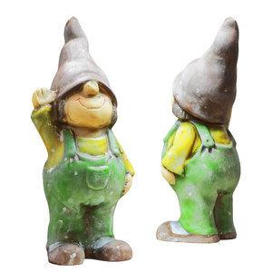 3D figurine garden gnome