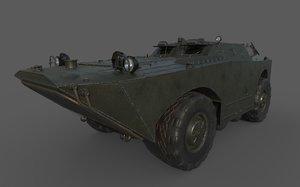 brdm-1 1 3D model