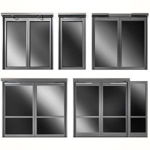 metal swinging doors model