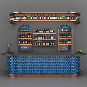 3D bar set 05 counter