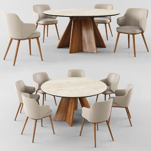 calligaris icaro table foyer 3D model