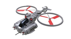 aircraft vehicle drone 3D model