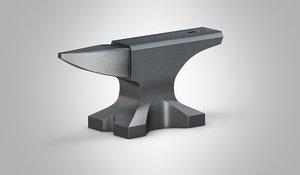 3D model anvil