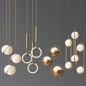 3D - ceiling light 6