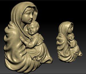 3D mary child