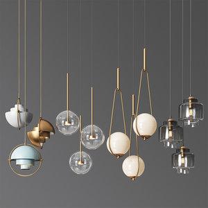 - ceiling light 8 3D model