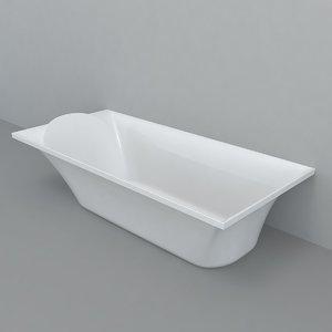 3D model bathtub