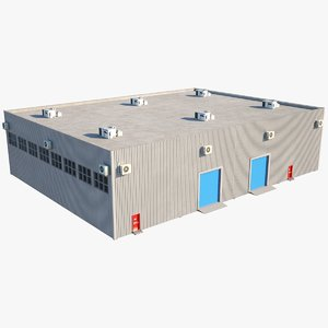 real warehouse 3D
