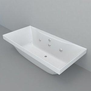 3D bathtub model