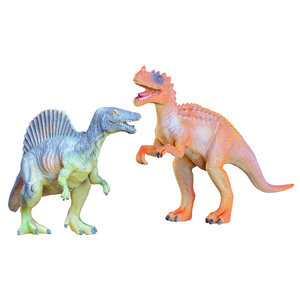 toys dinosaurs spinosaurus ceratosaurus model