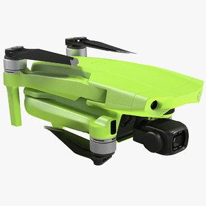 drone quadcopter camera folded 3D
