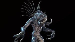 character swamp monster 3D