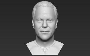 jack bauer bust printing 3D model