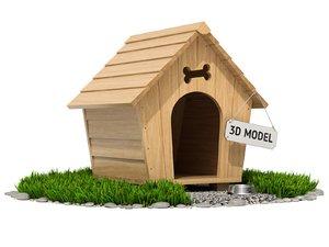 grass wood ground 3D
