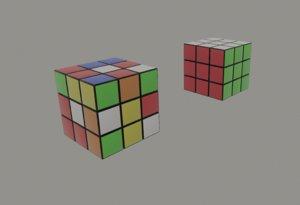 colors rubiks 3D