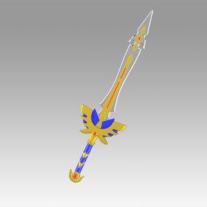 dragon quest s 3D model