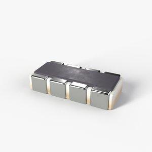 3D smd type resistor 2k model