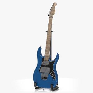 electric guitar v2 3D model