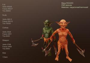 goblin pbr 3D model