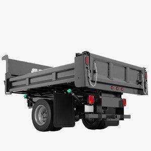 flatbed dump truck model