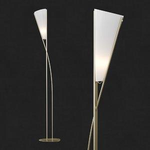 3D nilufar - lampada da