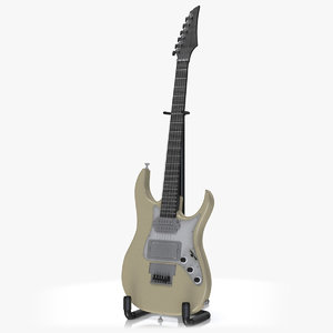 3D model electric guitar v4