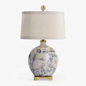 3D wildwood lamps lighting ancient