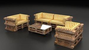 seats palette palet model