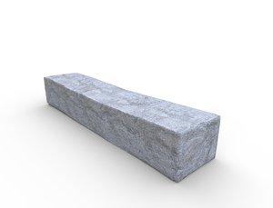 concrete slab - pbr model