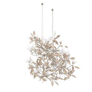 chandelier magnolia cox london 3D model