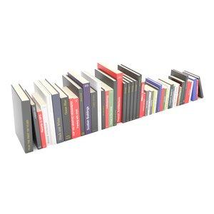 3D row books