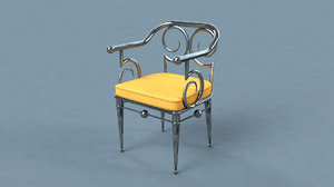 chair funky 3D model