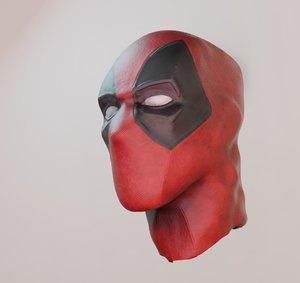 mask superhero pbr 3D model