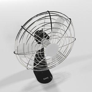 3D fan metal objects