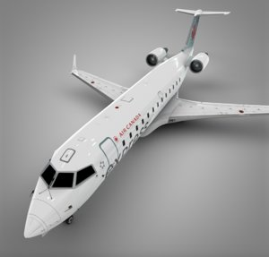air canada bombardier crj model