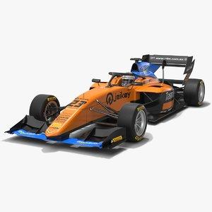 3D campos racing dallara f3