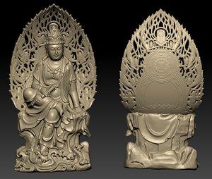 3D bodhisattva kwanyin model