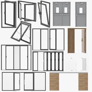 3D model 13 door