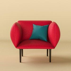 lounge chair 3D