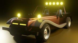 3D vehicle model