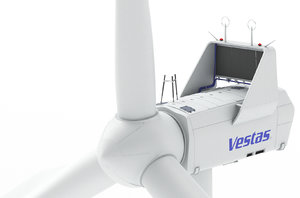 wind turbine vestas 3D model