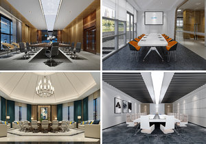 conference space 3D