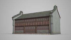 ancient architecture asia 3D model