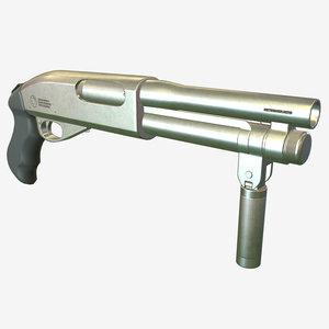 super-shorty shotgun 3D model