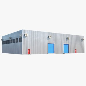real warehouse 3D model