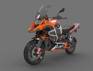 3D motorcycle motor cycle